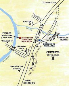 Towrang Map