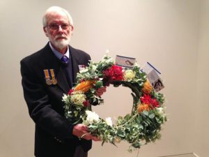 Roger & wreath