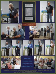 Collage for Don gruber Room Dedication