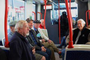 Light Rail trip Canberra